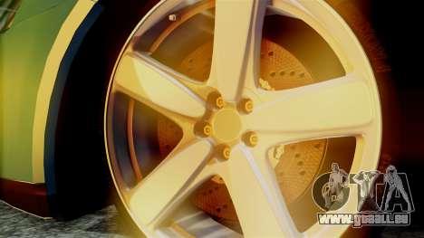Volkswagen Golf Mk5 für GTA San Andreas zurück linke Ansicht