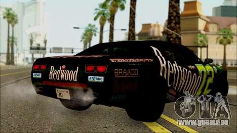 GTA 5 Bravado Gauntlet Redwood HQLM pour GTA San Andreas laissé vue