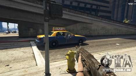 GTA 5 Gears of War Lancer 1.0.0 dritten Screenshot