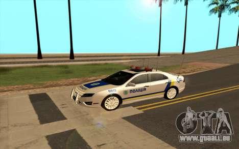 Ford Taurus Ukraine Police für GTA San Andreas linke Ansicht