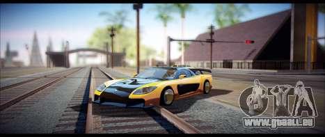 Temfan ENB pour GTA San Andreas deuxième écran