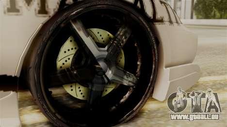 Toyota Supra Full Tuning für GTA San Andreas zurück linke Ansicht