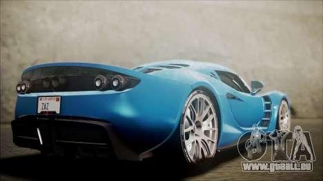 Hennessey Venom GT 2012 U.S.A American pour GTA San Andreas laissé vue