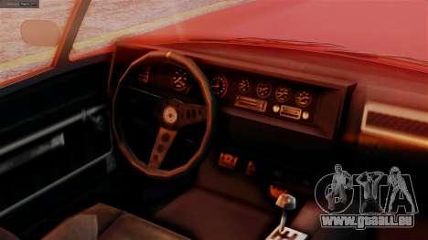 GTA 5 Invetero Coquette BlackFin IVF für GTA San Andreas rechten Ansicht