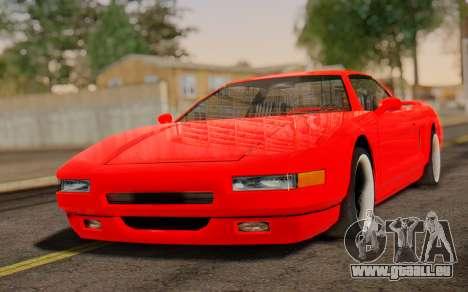 Infernus Hamann Edition New Wheels pour GTA San Andreas