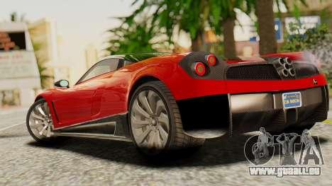 Pegassi Osyra für GTA San Andreas linke Ansicht