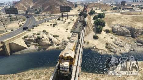 GTA 5 Improved freight train 3.8 troisième capture d'écran