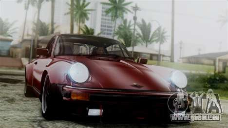 Porsche 911 Turbo (930) 1985 Kit C pour GTA San Andreas salon