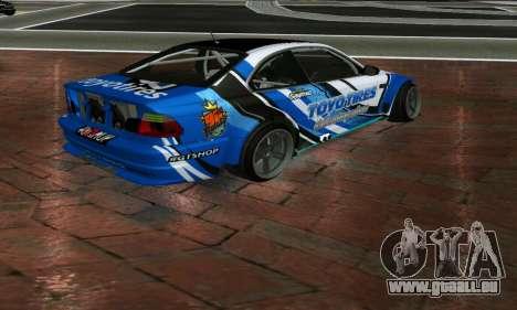 BMW M3 E46 ToyoTires GT-SHOP für GTA San Andreas linke Ansicht