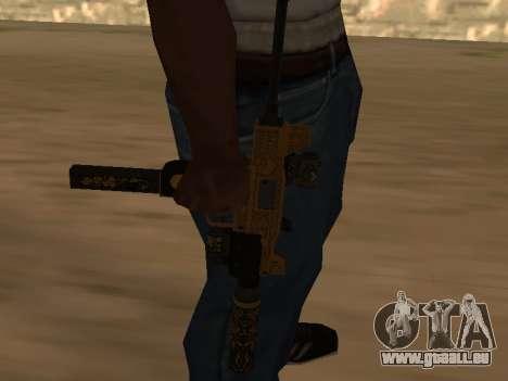 Micro SMG für GTA San Andreas zweiten Screenshot