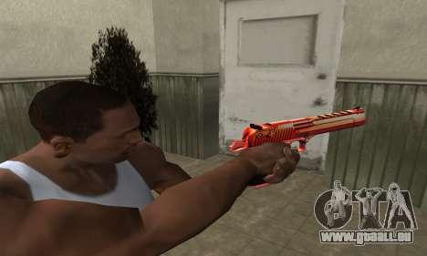 Death Red Deagle für GTA San Andreas zweiten Screenshot