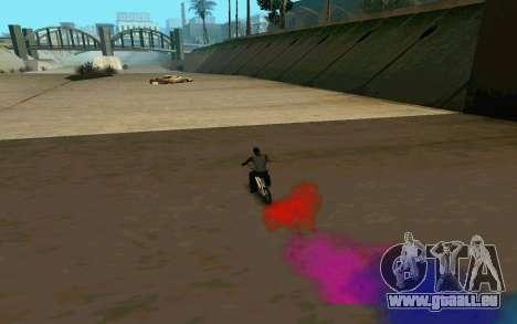 Bike Smoke für GTA San Andreas fünften Screenshot