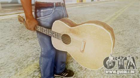Red Dead Redemption Guitar für GTA San Andreas zweiten Screenshot