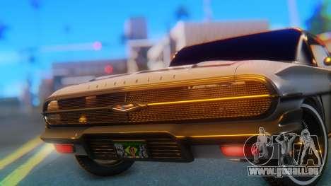 Chevrolet Impala 1960 für GTA San Andreas Rückansicht