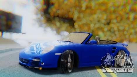 Porsche 911 2010 Cabrio für GTA San Andreas