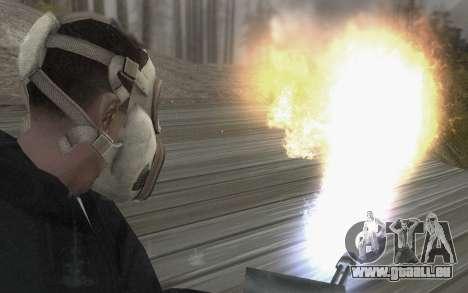 Le masque est de DayZ Standalone pour GTA San Andreas troisième écran