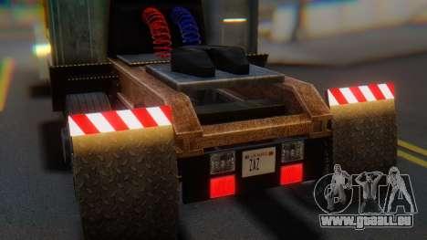 Linerunner PFR HD v1.0 für GTA San Andreas Rückansicht