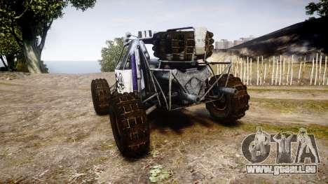 Buggy Fireball für GTA 4 hinten links Ansicht