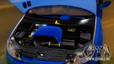 Peugeot 206 Full Tuning pour GTA San Andreas vue de dessus