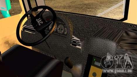 JAC Microbus für GTA San Andreas zurück linke Ansicht