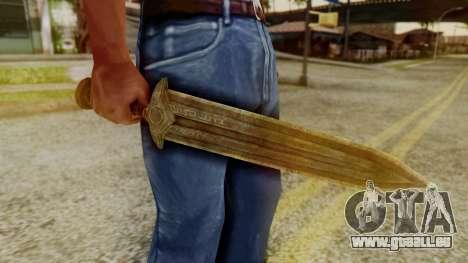 Dwarven Dagger für GTA San Andreas zweiten Screenshot