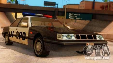 Police LV Intruder für GTA San Andreas