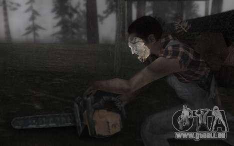 Das Leder Gesichtsmaske für GTA San Andreas dritten Screenshot