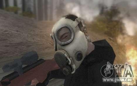 Die Maske ist aus DayZ Standalone für GTA San Andreas her Screenshot