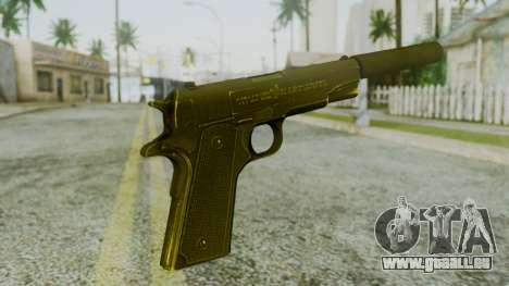 Silenced M1911 Pistol pour GTA San Andreas deuxième écran