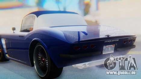 Invetero Coquette BlackFin v2 SA Plate pour GTA San Andreas vue de dessus
