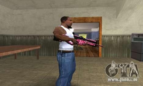 Lamen Sniper pour GTA San Andreas deuxième écran