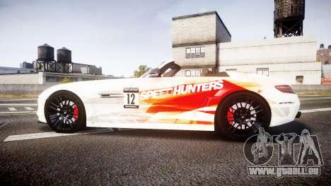 Mercedes-Benz SLS AMG pour GTA 4 est une gauche