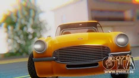 Invetero Coquette BlackFin Not Convertible pour GTA San Andreas vue de droite