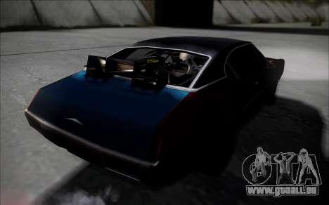 BTTF1-Clover pour GTA San Andreas sur la vue arrière gauche