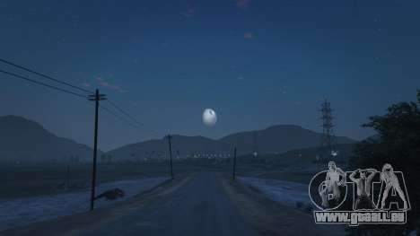 GTA 5 DeathStar Moon v3 Complete Deathstar dritten Screenshot
