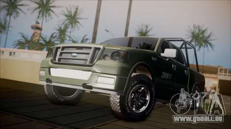 Ford F-150 Military MEX pour GTA San Andreas
