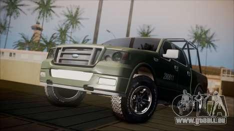 Ford F-150 Military MEX für GTA San Andreas
