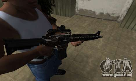 Brighty Leopard M4 für GTA San Andreas
