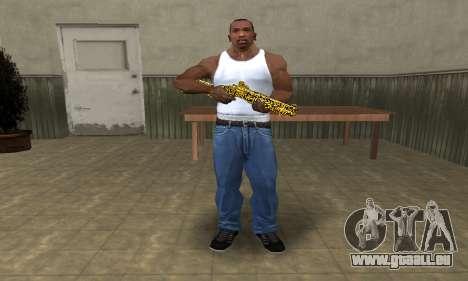 Microshem Shotgun pour GTA San Andreas troisième écran