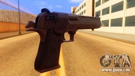 Atmosphere Desert Eagle pour GTA San Andreas deuxième écran