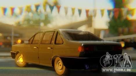 Volkswagen Santana Gz pour GTA San Andreas laissé vue