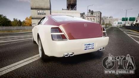 GTA V Enus Windsor für GTA 4 hinten links Ansicht