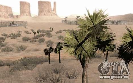 Une copie de l'original arbres pour GTA San Andreas quatrième écran