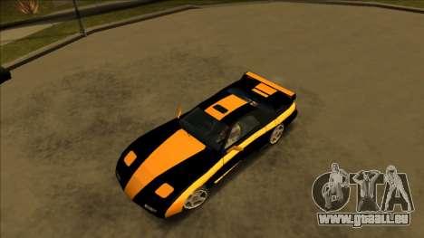 ZR-350 Road King pour GTA San Andreas vue de droite