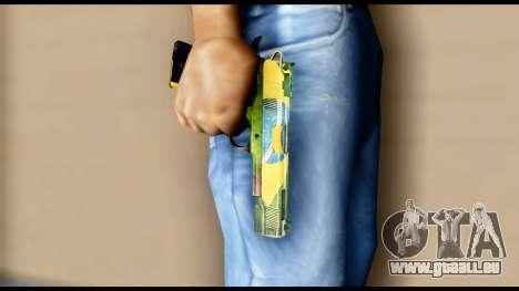 Brasileiro Pistol für GTA San Andreas dritten Screenshot