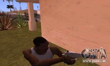 Deagle from Battlefield Hardline für GTA San Andreas dritten Screenshot
