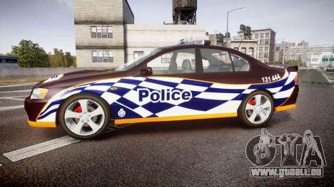Ford Falcon BA XR8 Highway Patrol [ELS] pour GTA 4 est une gauche