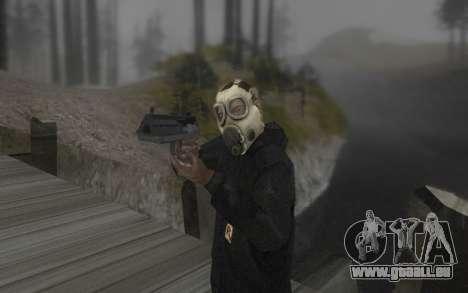 Le masque est de DayZ Standalone pour GTA San Andreas deuxième écran
