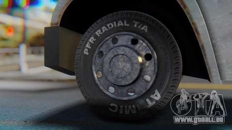 Linerunner PFR HD v1.0 pour GTA San Andreas sur la vue arrière gauche