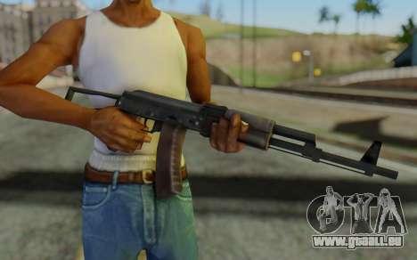 AK-74P pour GTA San Andreas troisième écran